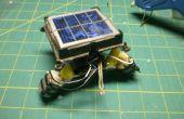 Zonne-energie aangedreven Robot uit PRULLENBAK!