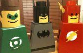 Lego Man kostuum voor kids