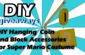 DIY blok & munt voor Super Mario Costume