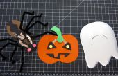 Halloween LED papier ambachten