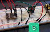 ESP8266-12 standalone blynk controle verkooppunten draadloze 433 mhz