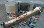 Bouwen van uw eigen Geocache waterdichte Tube Container