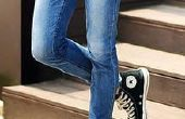 Hoe mager-ify flodderige broek