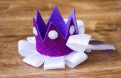 Kroon van handgemaakte schuim