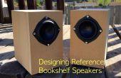 Ontwerp uw eigen referentie-boekenplankluidsprekers