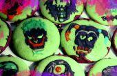 Suicide Squad chocolade munt schedel Cookies