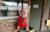 De 'Jam Stand': Een draagbare, aangepaste gitaar versterker & staan