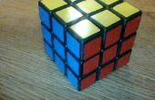 Rubik's kubus patroon: vinger pistool