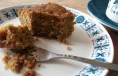 Honing, walnoten en cardamon baklava taart
