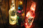Kleurrijke gerecycleerd fles Lamp