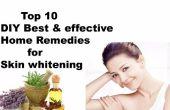 Top 10 DIY Best & effectieve Home Remedies voor Skin Whitening