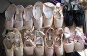 Hoe bereid ik pointe-schoenen