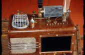 Het THEATRUM MAGICUS - een Steampunk mediaspeler voor muziek, foto's en films