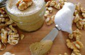 Zelfgemaakte noten boter