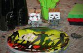 Zombie / horrorfilm thema verjaardag party games