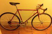 Herstel van een vintage Dumpster fiets