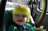 Tips voor reizen met een Baby: verpakking babykleding