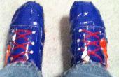 Hoe te Resize een paar Duct Tape schoenen