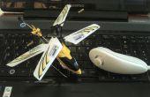 Nunchuk bestuurde helikopter