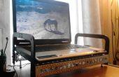 Actobotics aangepaste laptop koeler staan