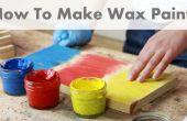 Hoe maak je Wax Paint