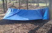 Paracord Tent of, zwervers tent