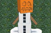 Minecraft sneeuw Golem Ornament