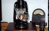 De 300 Volt Steampunk Plasma lantaarn
