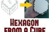 How to Make een zeshoekig doos uit balk plannen
