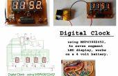 Digitale klok met behulp van MSP430