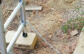 DIY dak access ladder.