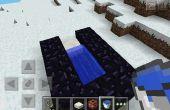 Hoe maak een kanon van tnt in minecraft pe!