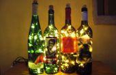 Wijn fles Accent licht