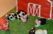 Hoe maak je een boerderij-Themed taart