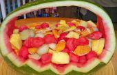 Watermeloen fruitmand