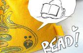 T-Shirt Mini zitzakken - Leer hoe te naaien en maak uw eigen flexibele lezing Bookstand