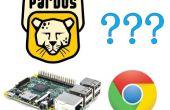 Google Chrome op PardusARM (Raspberry Pi 2)