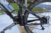 Draagbare en Winter Mountain of Cyclocross fiets wassen Tip