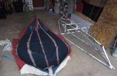 Proeven en beproevingen: bouwen van een inklapbaar kajak met PVC