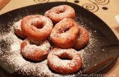Aardappel donuts