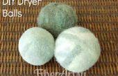 Eenvoudig DIY Gevilte droger ballen