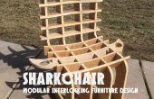 SHARKCHAIR: Modulair meubeldesign in elkaar grijpende