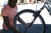 Hoe Patch een lekke band op een fiets