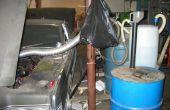 Voer uw auto op waterstof uit aluminium Soda blikjes en loog