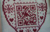 De ultieme geeky gepersonaliseerd cadeau - Maak een cross stitch QR code