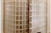 Hoe installeer ik een glas-Block douche