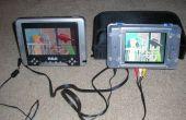 Voeg een derde LCD naar uw draagbare scherm DVD speler