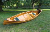 Bouwen van een ceder-Strip kano