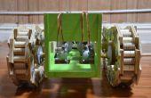 Robot Tank gemaakt van kras