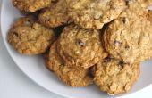 Zuivel vrij havermout koekjes